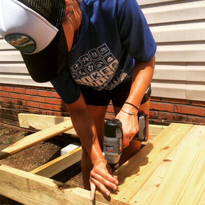 Rebuild Upstate joins with national Bike & Build program on Greenville project