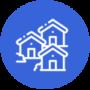 houses-blue-circle