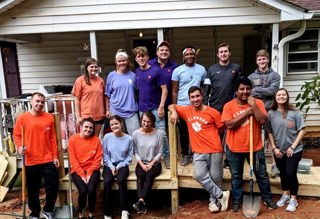 Meet Greg – Volunteer Lead for Clemson Delta Sigma Pi