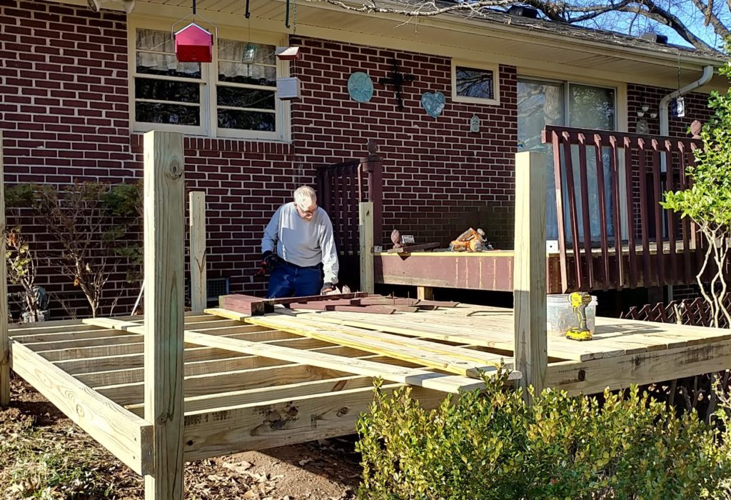 Volunteering: Family Man Turned Handyman