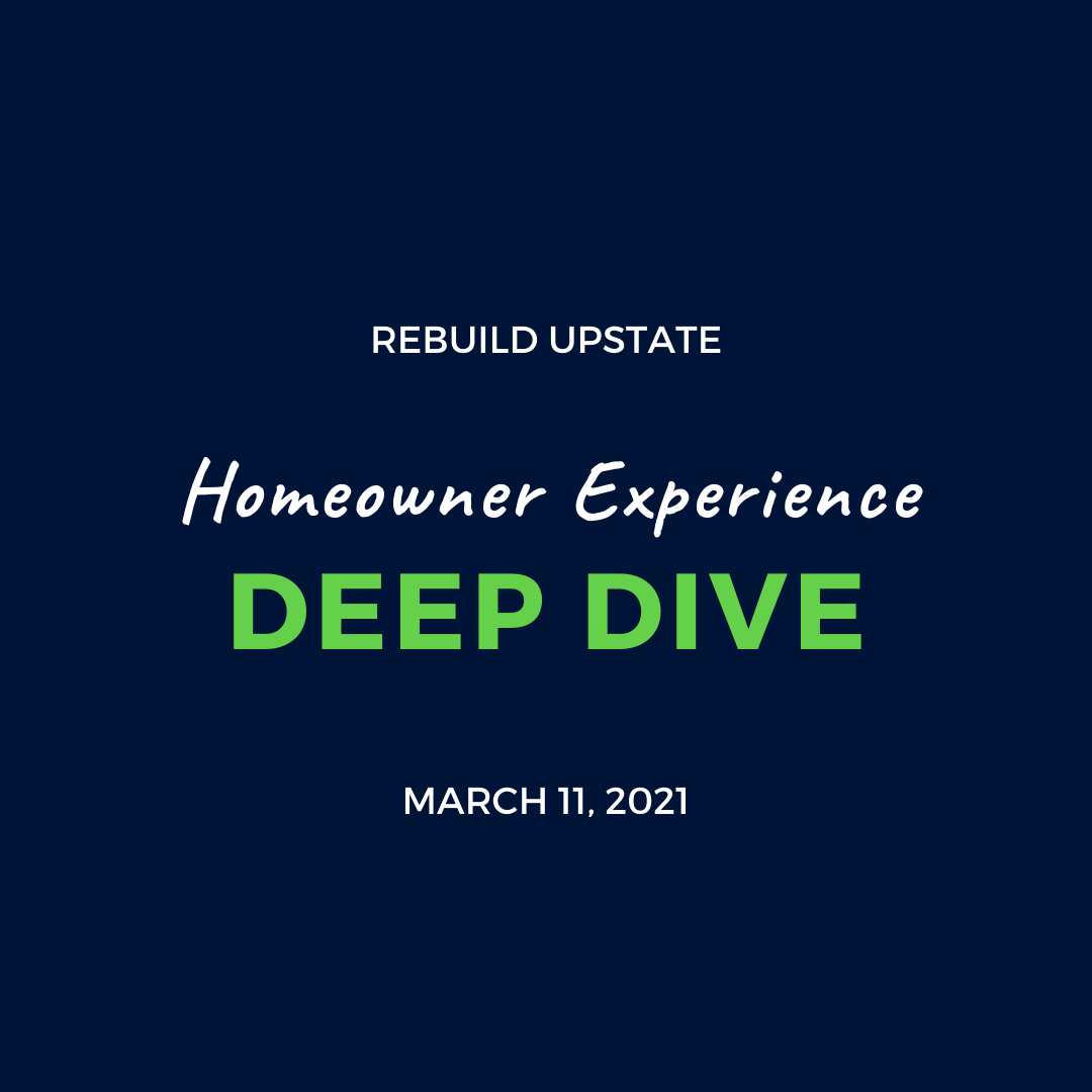 Homeowner Experience Deep Dive